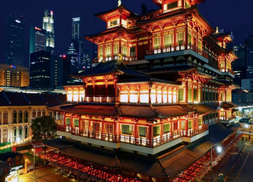 One Day Cultural Tour at Chinatown, Kampong Glam, Little India and Clarke Quay